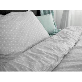 Homeville Homeville povlečení 100% bavlna Aino šedá 140x200cm+70x90cm