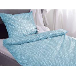 Homeville Homeville povlečení 100% bavlna Aliisa modrá 140x200cm+70x90cm