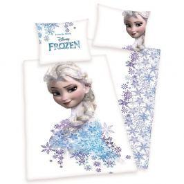 Herding Herding povlečení Frozen Ledové království Elsa bílé 140x200/70x90cm