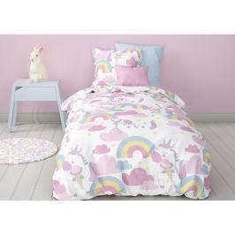 Mistral home Mistral Home dětské povlečení 100% bavlna Jednorožci 140x200/70x90cm