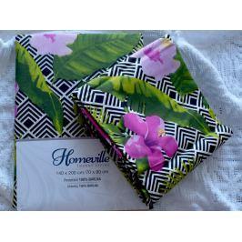 Homeville Homeville povlečení 100% bavlna Hertta 140x200cm+70x90cm