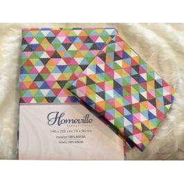 Homeville Homeville povlečení 100% bavlna Hillevi 140x200cm+70x90cm