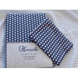 Homeville Homeville povlečení 100% bavlna Jutta 140x200cm+70x90cm