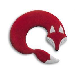 Leschi Hřející polštářek lišák Noah 30x25cm červená/černá