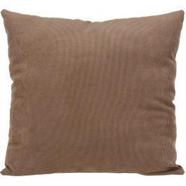 Home collection Dekorační polštářek manšestrový 45x45 cm světle hnědá