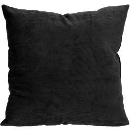 Home collection Dekorační polštářek manšestrový 45x45 cm antracit