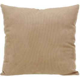 Home collection Dekorační polštářek manšestrový 45x45 cm béžová