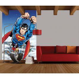 1Wall fototapeta Letící Superman 158x232 cm