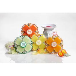 Price´s PETALI luxusní aromalampa+sada vosků a čajových svíček