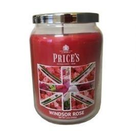 Price´s SIGNATURE MAXI svíčka ve skle Windsor rose, hoření 150h