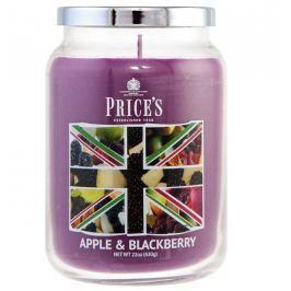 Price´s SIGNATURE MAXI svíčka ve skle Apple & blackberry, hoření 150h