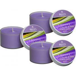 Price´s SIGNATURE vonné svíčky v plechu Levandule&Lemongrass 123g 3ks