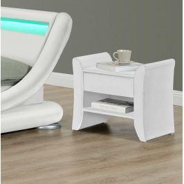Noční stolek BOLTON bílá Tempo Kondela