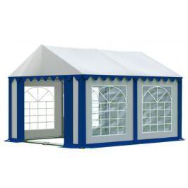 Zahradní párty stan 3x4m bílá / modrá PREMIUM
