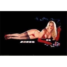 plakát Pin Up poker