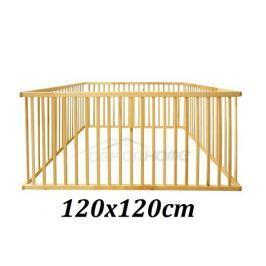 Dřevěná ohrádka 120 x 120 cm