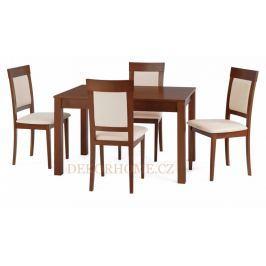 Jídelní stůl BT-4676 + 4 jídelní židle BC-3960 Autronic