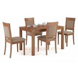 Jídelní stůl BT-4684 + 4 jídelní židle BC-3960 Autronic