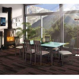 Jídelní stůl BT-6780 + 4 jídelní židle BC-2602 Autronic