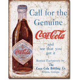cedule Coca Cola - Call for the Geniune