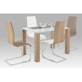 Jídelní stůl AT-1055 SRE + 4 jídelní židle WE-5021 Autronic