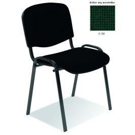 Konferenční židle ISO zelená Halmar