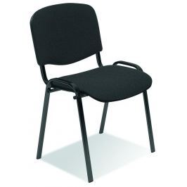 Konferenční židle ISO tmavě šedá Halmar