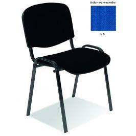 Konferenční židle ISO modrá Halmar
