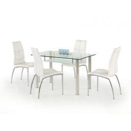 Skleněný jídelní stůl OLIVIER Halmar