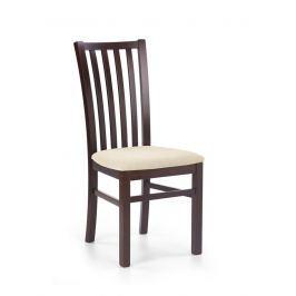 Jídelní židle GERARD7 tmavý ořech Halmar