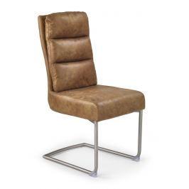 Jídelní židle K207 hnědá Halmar