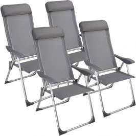 Zahradní židle 4 ks D1412 Dekorhome