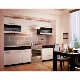Kuchyňská linka JURA NEW B 260 bílá / wenge Tempo Kondela