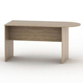 Kancelářský stůl s obloukem TEMPO AS NEW 022 dub sonoma Tempo Kondela