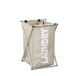 Koš na prádlo LAUNDRY TYP 1 šedobéžová Tempo Kondela