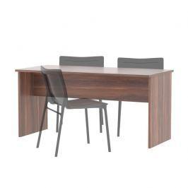 Oboustranný stůl, švestka, JOHAN NEW 08 0000185608 Tempo Kondela