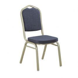 Stohovatelná židle ZINA 2 NEW šedá / champagne Tempo Kondela