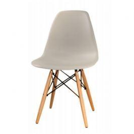 Židle CINKLA 2 NEW šedá / buk Tempo Kondela
