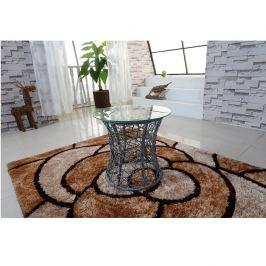 Příruční stolek, šedá, SALMAR 0000194858 Tempo Kondela