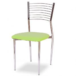 Jídelní židle ZAIRA zelená Tempo Kondela
