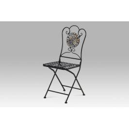 Kovová židle s mozajkou JF2205 Autronic