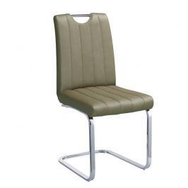 Židle EMORI TYP 3 šedohnědá taupe Tempo Kondela