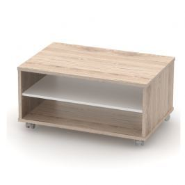 Konferenční stolek, san remo / bílá, RIOMA TYP 32 0000210501 Tempo Kondela