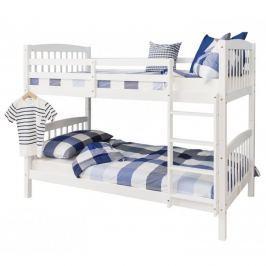 Patrová rozložitelná postel RAVELO bílá  Tempo Kondela