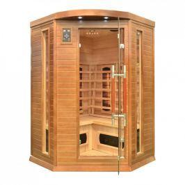 Rohová infračervená sauna GH7008