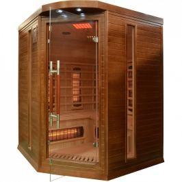 Rohová infračervená sauna GH0478