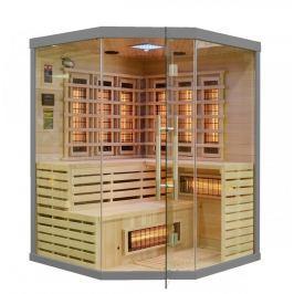 Rohová infračervená sauna GH4428 šedá