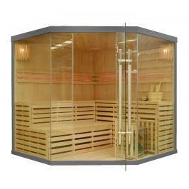Rohová finská sauna GH8045 šedá