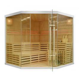 Rohová finská sauna GH3462 bílá