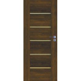 Interiérové dveře Naturel Aura levé 80 cm ořech karamelový AURAOK80L
